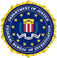 Department of Justice Federal Bureau of Investigation Logo